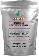 verena Toner Powder Black 1 KG for Samsung 1710/4521 / 4321/1043 / 1053/4200 / 101/1666 / 2850/205 / 203/116 / 115/103 / 1...
