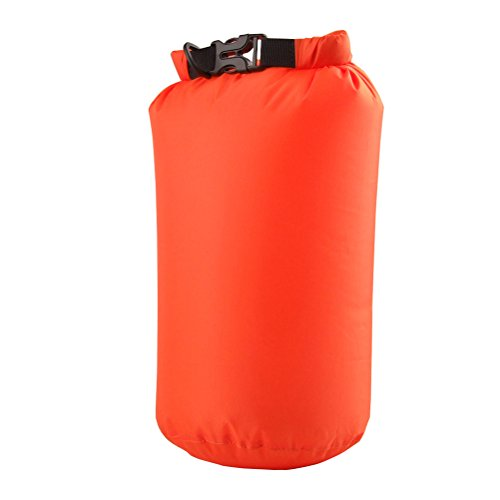 VORCOOL 15L Sac étanche Compression Sack Sac étanche pour bateau Kayak Rafting Camping Randonnée Outdoor Sports d'eau Sac de rangement (Orange)