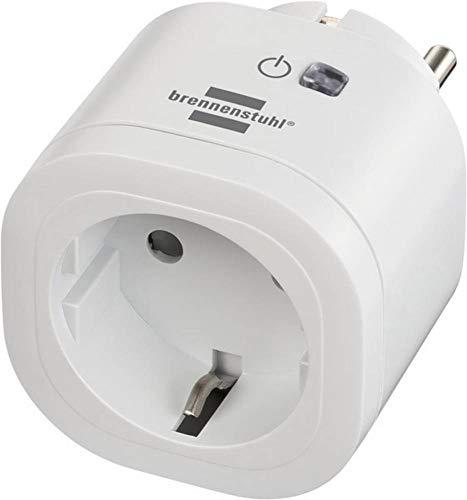 Brennenstuhl Connect WA 3000 WIFI slim draadloos stopcontact voor binnen, wit