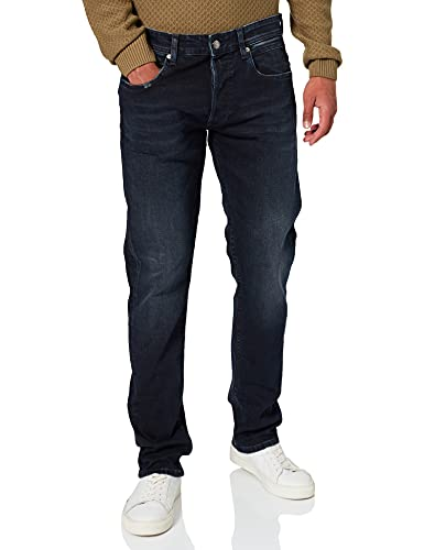 REPLAY Grover 573 Bio Jeans, 007 Blu Scuro, 34 W / 30 L Uomo