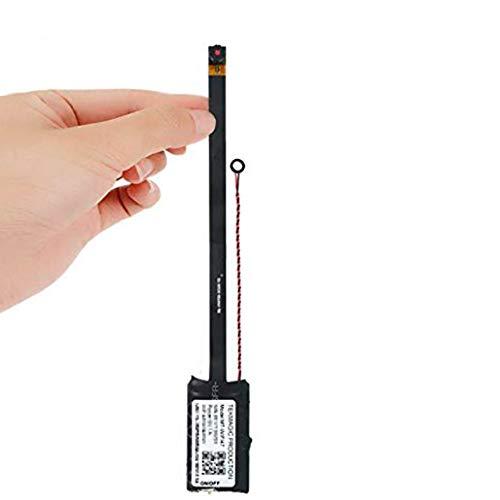 Cámara espía inalámbrica 720P HD – Cámara de seguridad WiFi, soporte para detección de movimiento y toma de fotografías, tarjeta de memoria integrada de 16 GB, 24 días de grabación continua