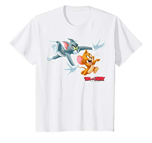Kids Tom And Jerry Classic Style Chase Portrait T-Shirt