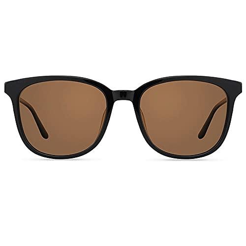 Gafas De Sol para Hombre,Gafas De Sol para Mujer Gafas De Sol Gafas De Conducción para Hombres Espejo De Conducción Polarizado Gafas De Sol para Hombres Y Mujeres HD Polarizadas (Color : Brown)