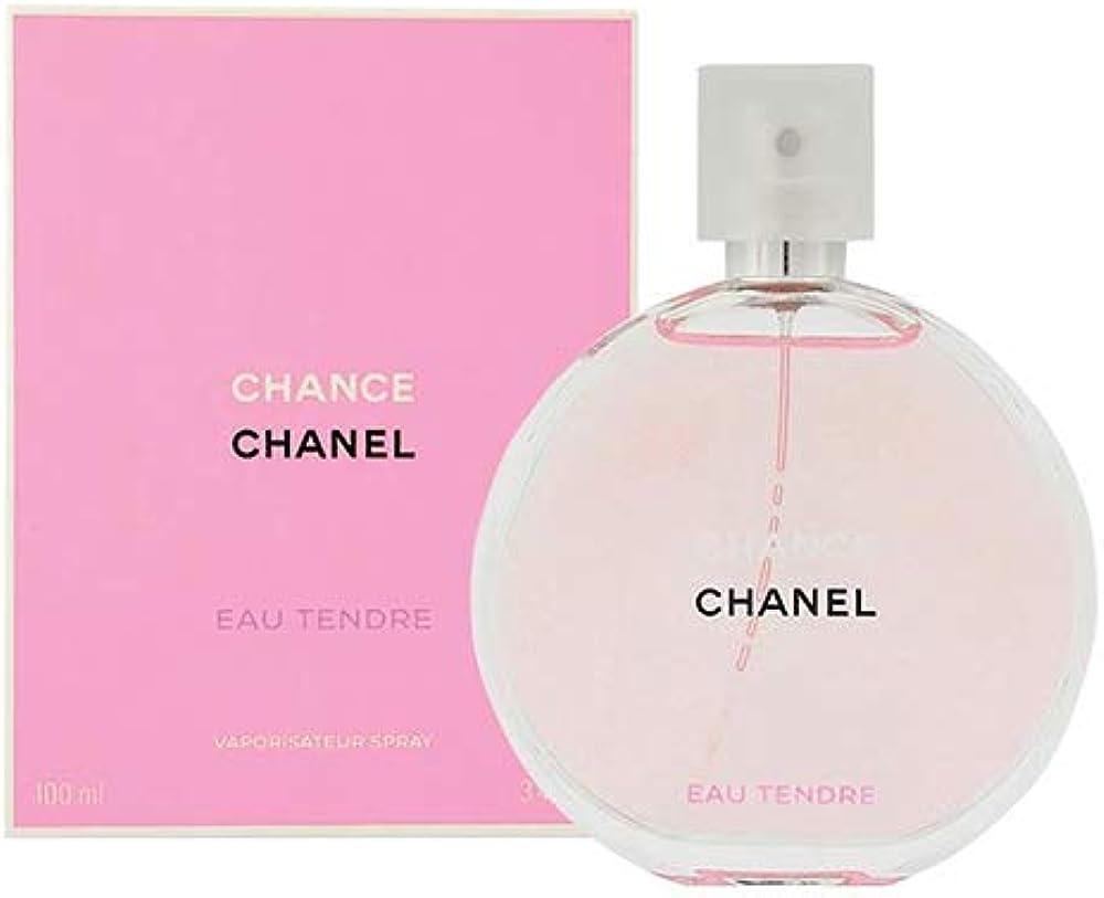 Chanel chance, eau tendre con vaporizzatore,100 ml,profumo per donna,eau de toilette da donna BF-3145891262605_Vendor