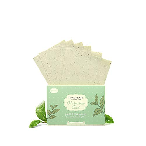 Allbesta Natural Oil Absorbing Sheets Tissues 100 Stück Face Oil Blotting Papers Make-up