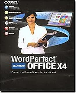 Corel WordPerfect Office X4 Standard Edition