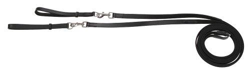 Kerbl 32669 Gurt-Schlaufzügel, schwarz