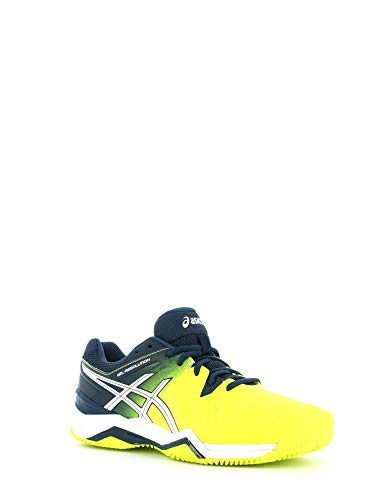 ASICS - Gel Resolution 6 Clay, Color Amarillo, Talla