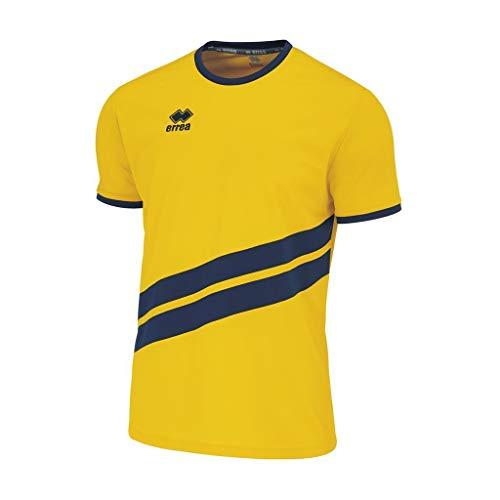 Errea Jaro MC Ad, T-Shirt für Herren M Giallo Blu