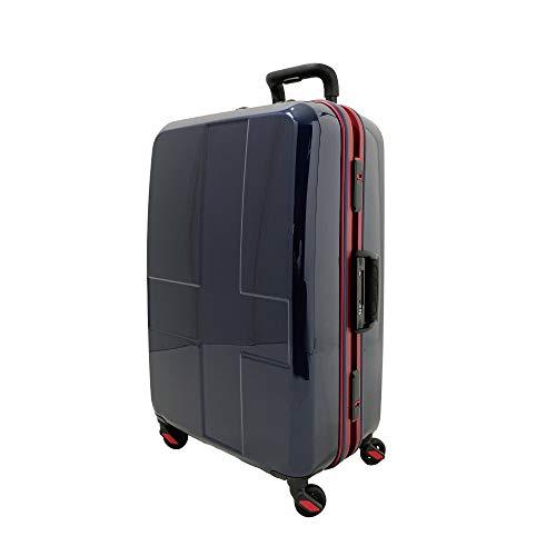 [イノベーター] スーツケース 大型 カードキー 消音キャスター INV68 保証付 90L 76 cm 4.8kg インディゴ