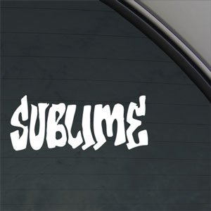 Sublime Decal Rock Band Car Truck Window Sticker