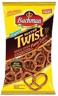 Bachman Butter Twist Pretzels 10 oz (4 Bags)