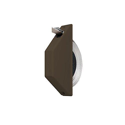 JAROLIFT Mini-Halbeinlaß-Gurtwickler, braun/inkl. 5m Gurt (081443)