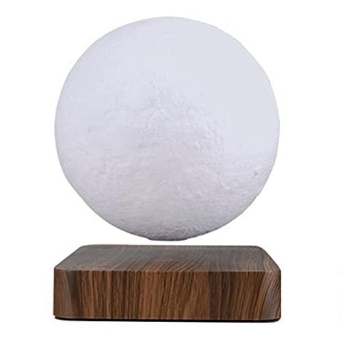Kidnefn Levitando la lámpara de Luna flotando y girando la lámpara de Luna con Las Luces LED de la luz LED gradualmente, la luz Decorativa para los Amantes de los niños Amigos