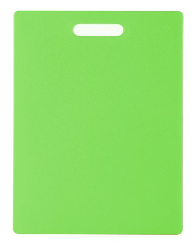 Dexas Classic Jelli Cutting Board with Handle, 11 by 14.5 inches, Green