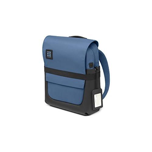 Moleskine ID Collection Zaino da Lavoro Professionale Waterproof Device Backpack per Tablet, Laptop, PC, Notebook e iPad Fino a 15'', Dimensioni 29 x 12 x 40 cm, Colore Blu Boreale
