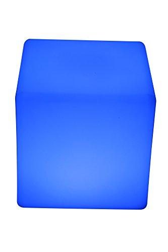 point-garden cubo luminoso tecnologia LED cambio di colori 20cm lampada cubo sgabello accumulatore FB UVP 239,--