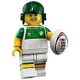 (開封済未使用品) レゴ ミニフィギュアシリーズ - 19 71025 ラグビー選手