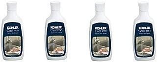 KOHLER K-1012525 Cast Iron Cleaner - 8 oz Bottle (4-(Pack))