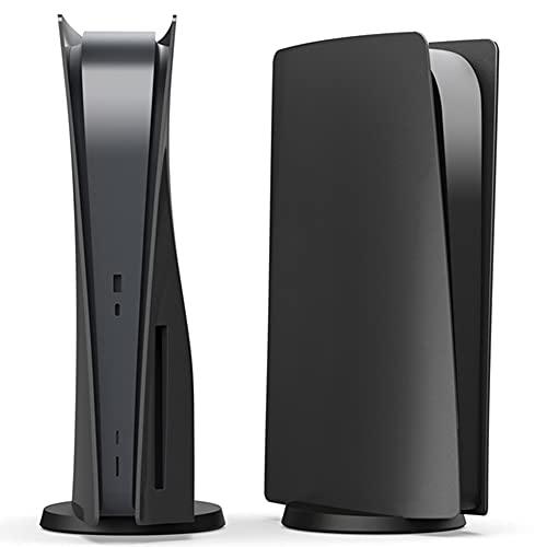 Megadream PS5 Console di ricambio per console PS5, piastra di ricambio per PS5 e accessori antipolvere, versione CD PS5