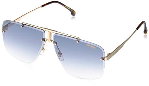 Carrera 1016/S Gafas, Yellow Gold/Gy Grigio, 64 Unisex Adulto