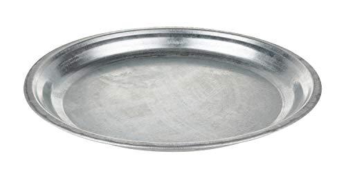 Metall Teller, zinkoptik Ø 30 cm