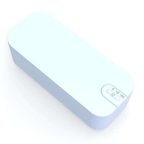 KHHK Limpiador ultrasónico Limpiador sónico para Joyas Joyas Piezas metálicas pequeñas Relojes Dentaduras postizas