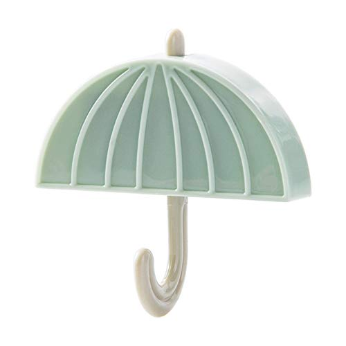 CAheadY Küche Nahtlose Kühlschrank starker Magnet Regenschirm Form Wand hängen Haken Green