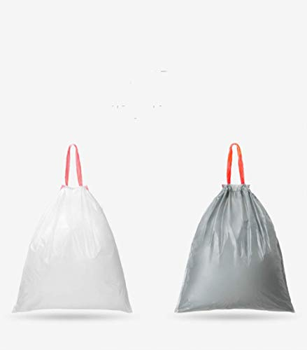 SST Drawstring rope trash bag thickened portable automatic closing household small and medium living room kitchen garbage bag