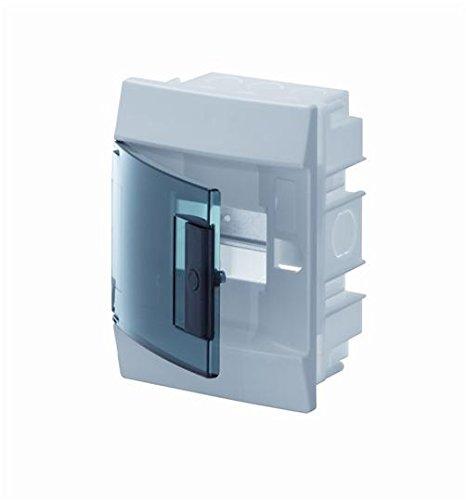 Abb-entrelec mistral41f inbouwdoos mistral41 series 850 4 modules deur transparant
