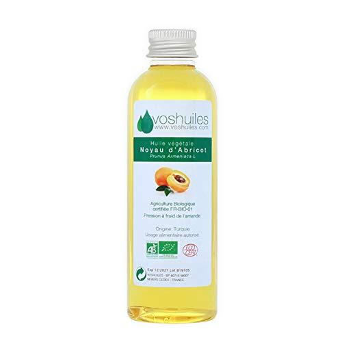 Huile Végétale BIO de noyau d'Abricot - 250ml