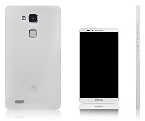 Xcessor Vapour Custodia per Huawei Ascend Mate 7 Phablet. Flessibile TPU Gel. Semitrasparente