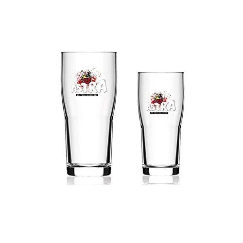ASTRA St Pauli Brauerei Bier Brewhouse Becher Gläser Set 6er Set (0,4 Liter)