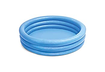 INTEX Crystal Blue Kids Outdoor Inflatable 58  Swimming Pool   58426EP
