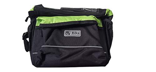 Bolsa, Mochila, Portaequipajes EBIKE para Bici con Pantalla táctil, Bolsa de Asiento, Bolsa Trasera para Bicicleta, Ciclista con Soporte para Móvil - 19x29x13cm