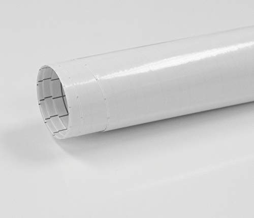 Fablon Klebefolie, 45cmx2m, Weiß glänzend