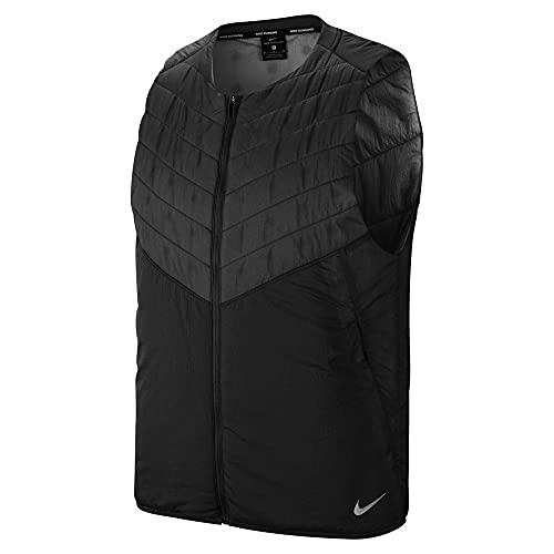 Nike Aerolayer Men's Running Vest, Black, Large