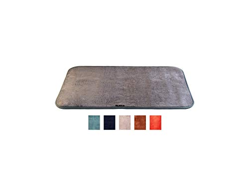 Fußmatte Teppich für Eingangsbereich sehr saugfähig & waschbar rutschfest Fußmatte Eingang außen innen Garten Garage Badezimmer Dusche