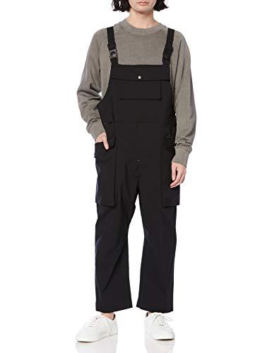 gym master(ジムマスター) ストレッチリップストップモンスターポケットオーバーオール ブラック XL