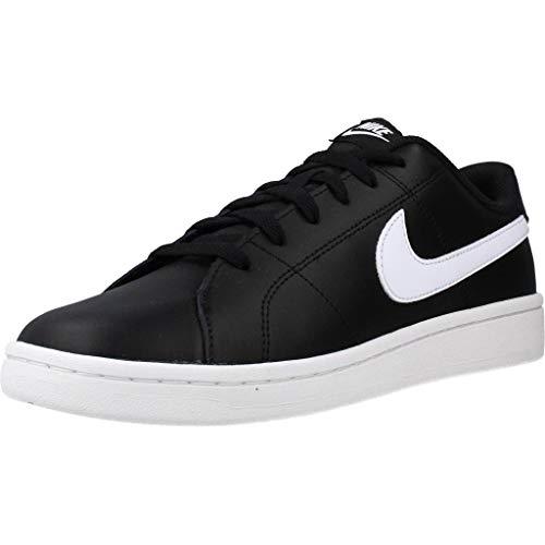 Nike Court Royale 2, Zapatos de Tenis Hombre, Blanco y Negro, 39 EU