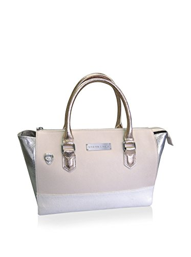 Adrienne Landau Calypso Nolita Tote (White) Buxton Mini Mini Bag