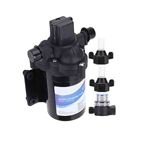Bomba de agua, 2850R / M Velocidad 45Psi / 3.1Bar Presión de aire Diafragma de agua Bomba autocebante de alta presión para riego agrícola para caravana de yates marinos Rv