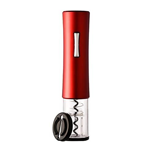 SHUAN QIAO Conjunto De Abrelatas De Botella De Vino Eléctrico LED Abrigo Automático De Corcho Automático Profesional Abrelatas De Vino Tinto con Cortador De Lámina para Herramientas De Cocina para El