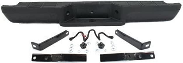 Rear Step Bumper for Ford Ranger 1993-2011 Assembly Powdercoated Black Steel Hitch Style Fleetside