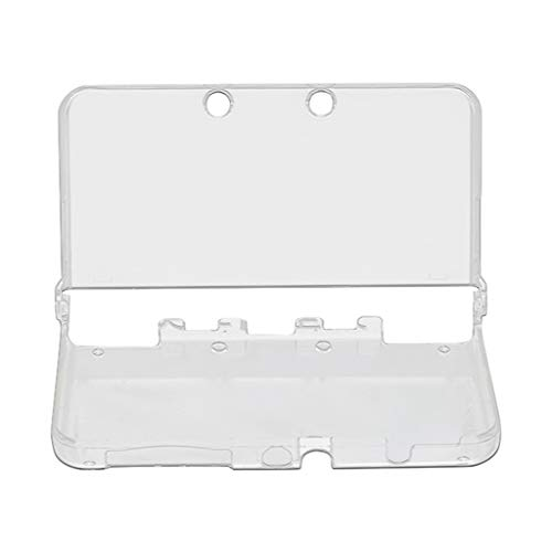 Für New Nintendo 3DS/3DS XL Transparent Hülle, Silikon Schutzhülle Schützende Hartschalenhülle Hülle Tasche für New Nintendo 3DS / 3DS XL Konsole