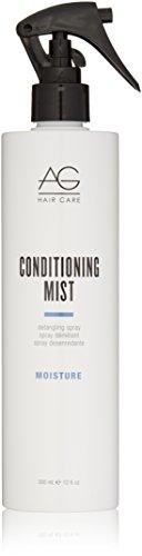 AG Hair Moisture Conditioning Mist Detangling Spray, 12 Fl Oz Detangling Light Conditioning Mist