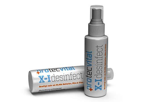 X-I Desinfect,Desinfektionsmittel, für Ihre Intieme Sicherheit,vor Bakterien und Viren beim Sex schützen, Profi Produkt wird angewendet für Klinik Hygiene und zur Desinfektion Deutsche Herstellung