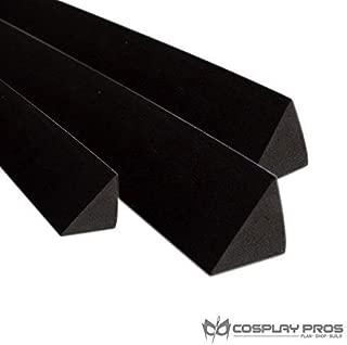 Cosplay Pros Eva Foam Triangle Bevel Cut Dowels 38kg/m3 Hardness (18mm Thickness (3 Pack))