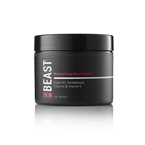 Tame the Beast - Beard Balm for Men - Moisturizing Leave-in Conditioner - Argan Oil, Sandalwood Oil, Vitamin E, Cocoa & Natural Oils of Jojoba, Eucalyptus, Coconut, Lavender, Cypress