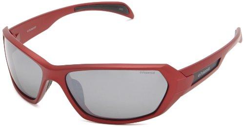 Polaroid Unisex-Erwachsene P7312-33W-JB Sonnenbrille, Rot (Rojo), 63